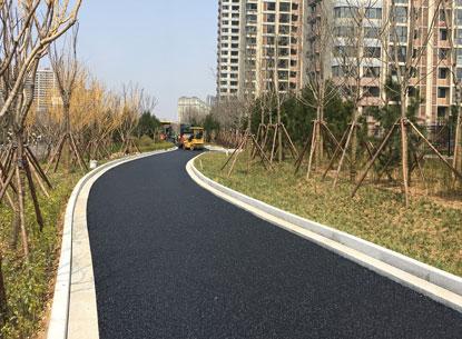 Diseño de asfalto poroso