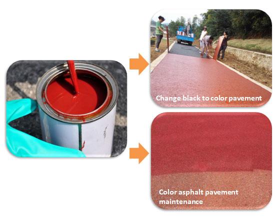 Color Asphalt Sealer Coating