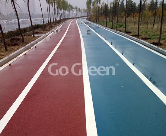 Proyecto de asfalto de color de Mongolia Interior