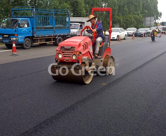 Proyecto de superposición de asfalto con micro pavimento en Foshan