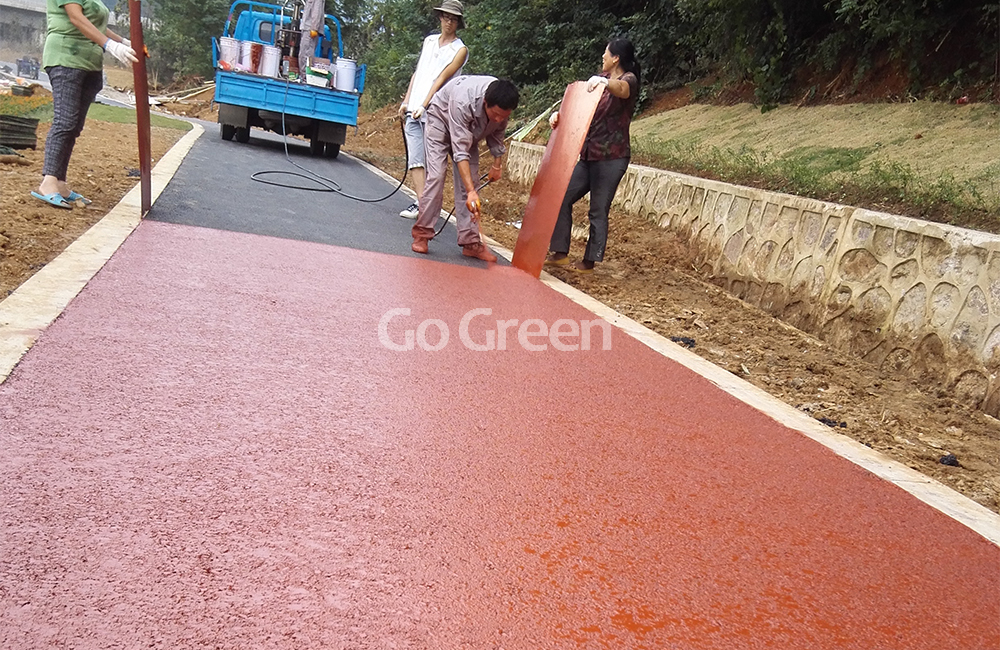 Sellador de pavimento de asfalto de silicio ecológico