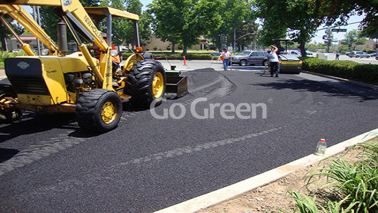 Proyecto de parcheo de asfalto frío