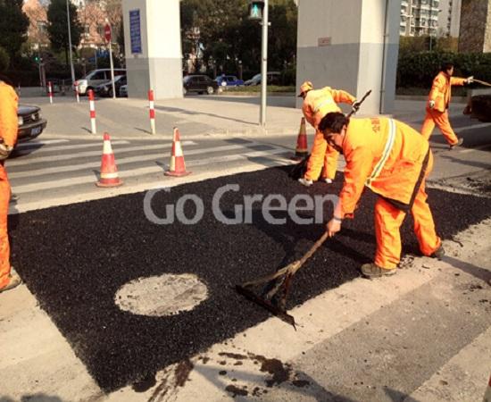 Go Green asfalto frío para reparación instantánea de carreteras