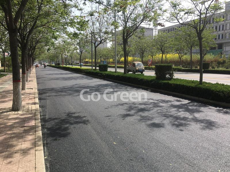 Go Green Proyecto de micro pavimento asfáltico en Hebei China