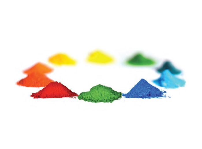 Pigmento de óxido de hierro