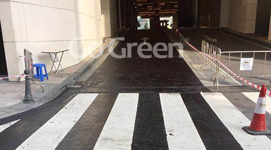 Sellador de pavimento de asfalto aplicado en mantenimiento de túneles en Macao