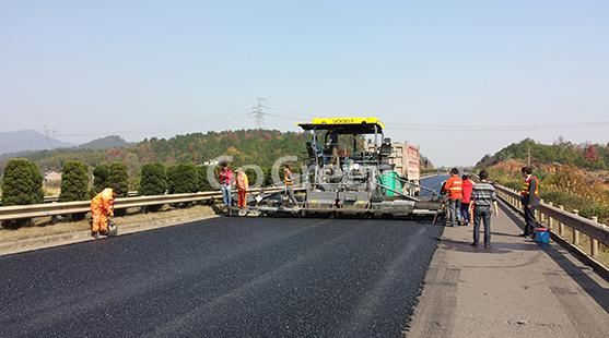 Micro pavimento Asfalto ampliamente utilizado en autopista