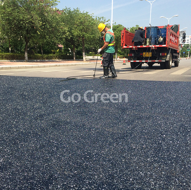 [Nueva tecnología] Sellador de pavimento de asfalto de silicio ecológico